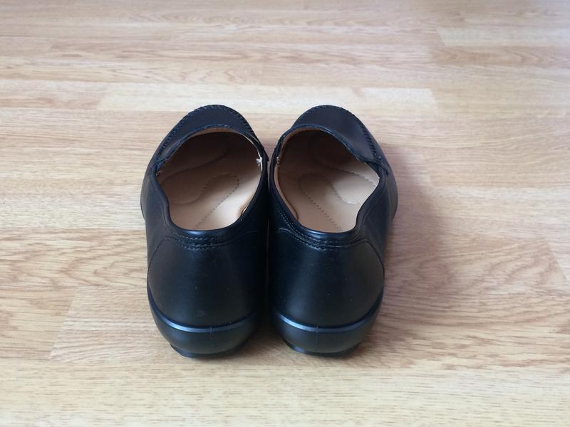 Новые кожаные туфли hotter англия 37 размера - Фото 4