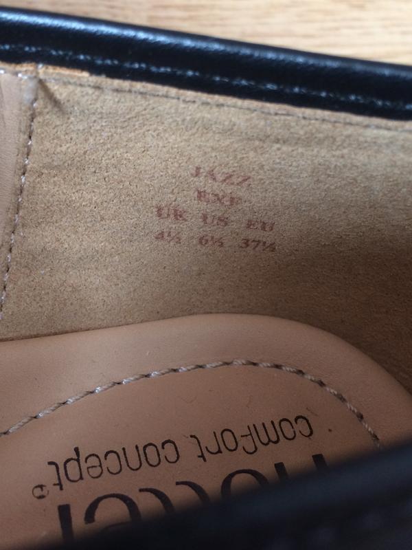 Новые кожаные туфли hotter англия 37 размера - Фото 6
