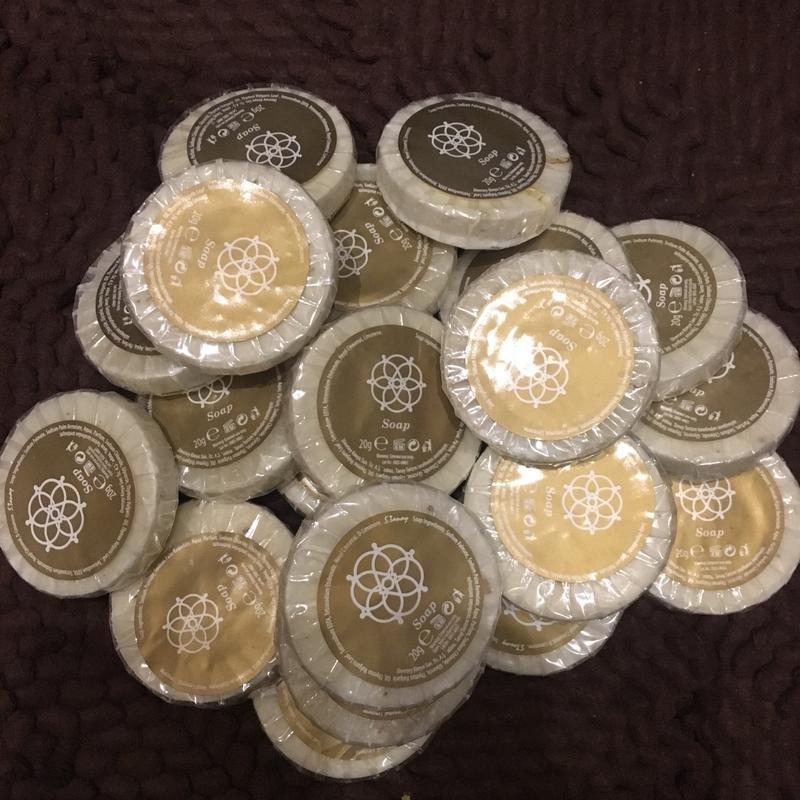 Натуральное мыло с водорослями набор {17шт по 20г}