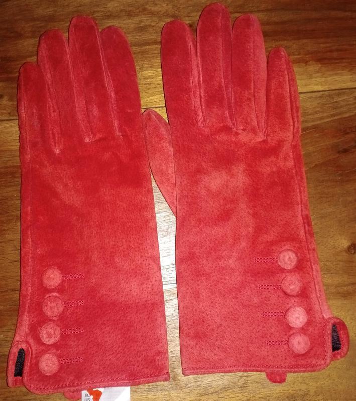 Замшевые, демисезонные перчатки h&m