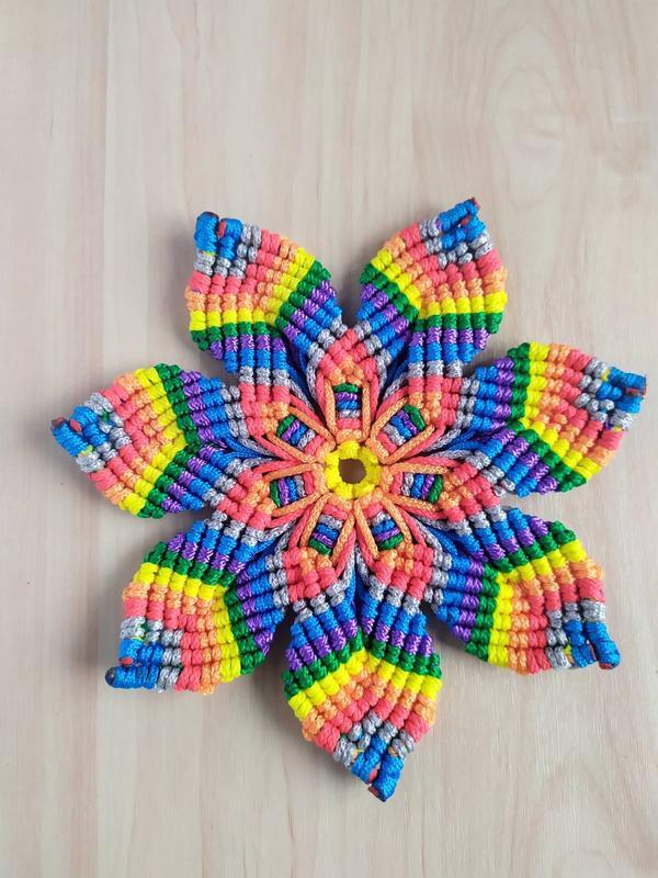 Декор подставка радуга для горячего и как элемент декора