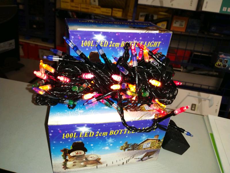 Гирлянда светодиодная NY - 100 LED Bottle Color - Фото 2