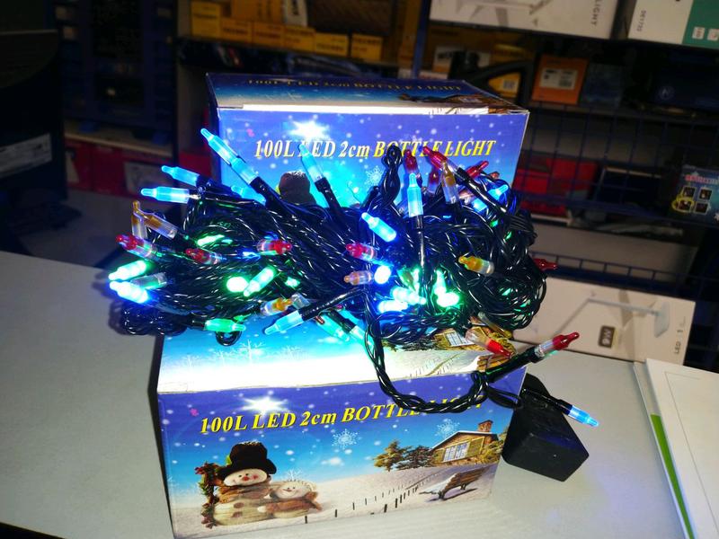 Гирлянда светодиодная NY - 100 LED Bottle Color