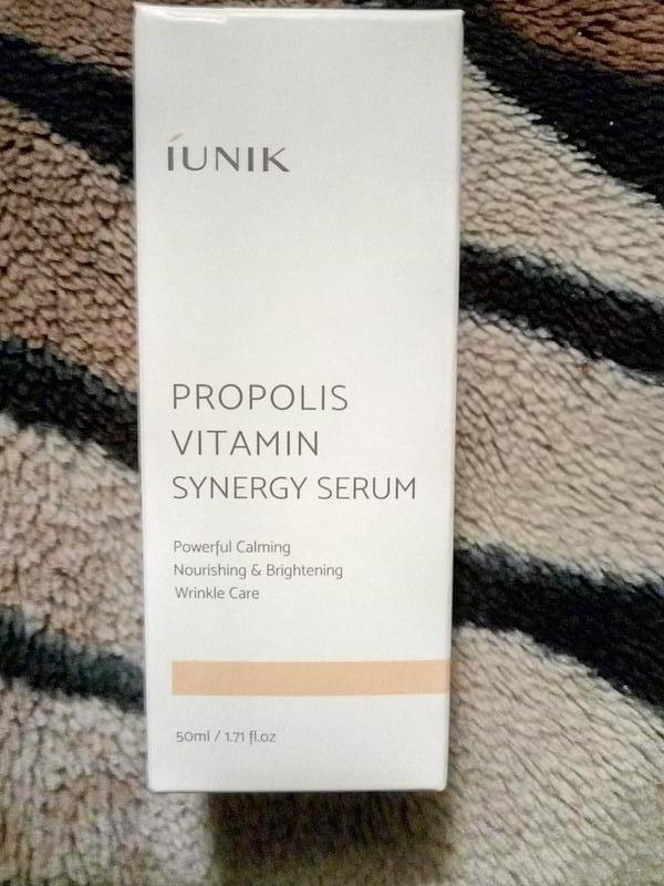 Витаминная сыворотка iunik propolis serum 50 ml
