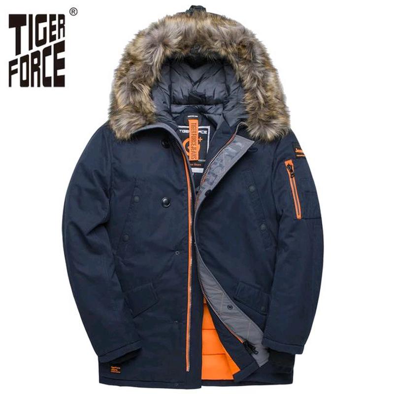 TIGER FORCE куртка мужская зимняя/ парка / пуховик -25°