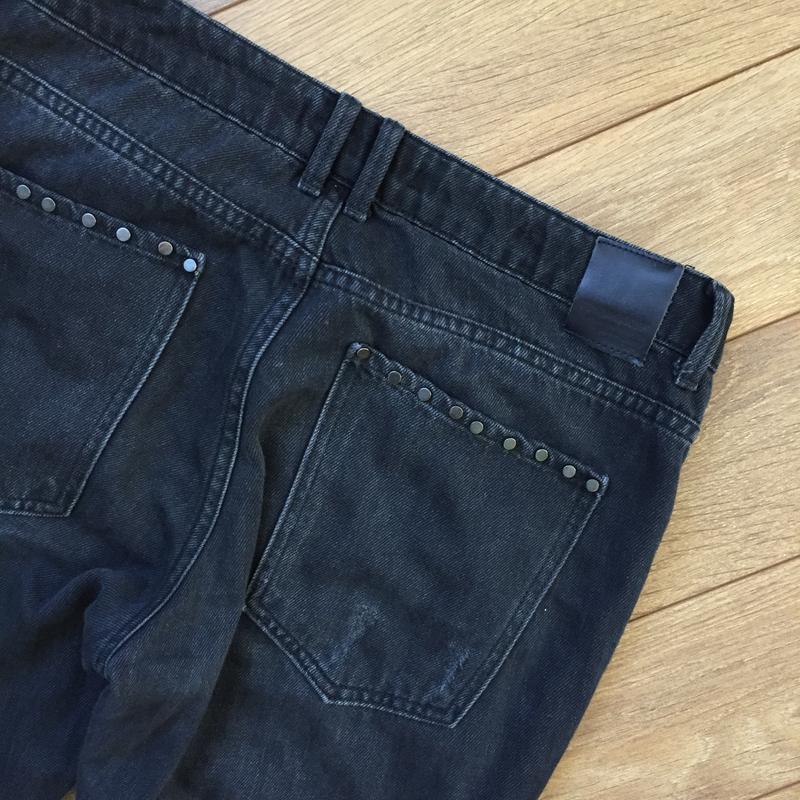 Стильнейшие джинсы  с потёртостями от zara - Фото 4
