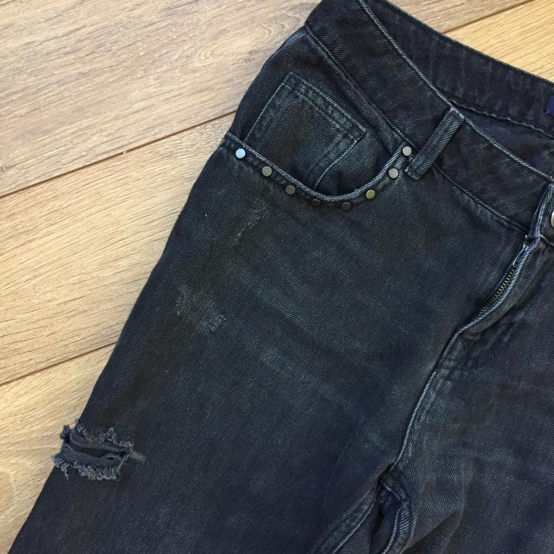 Стильнейшие джинсы  с потёртостями от zara - Фото 6