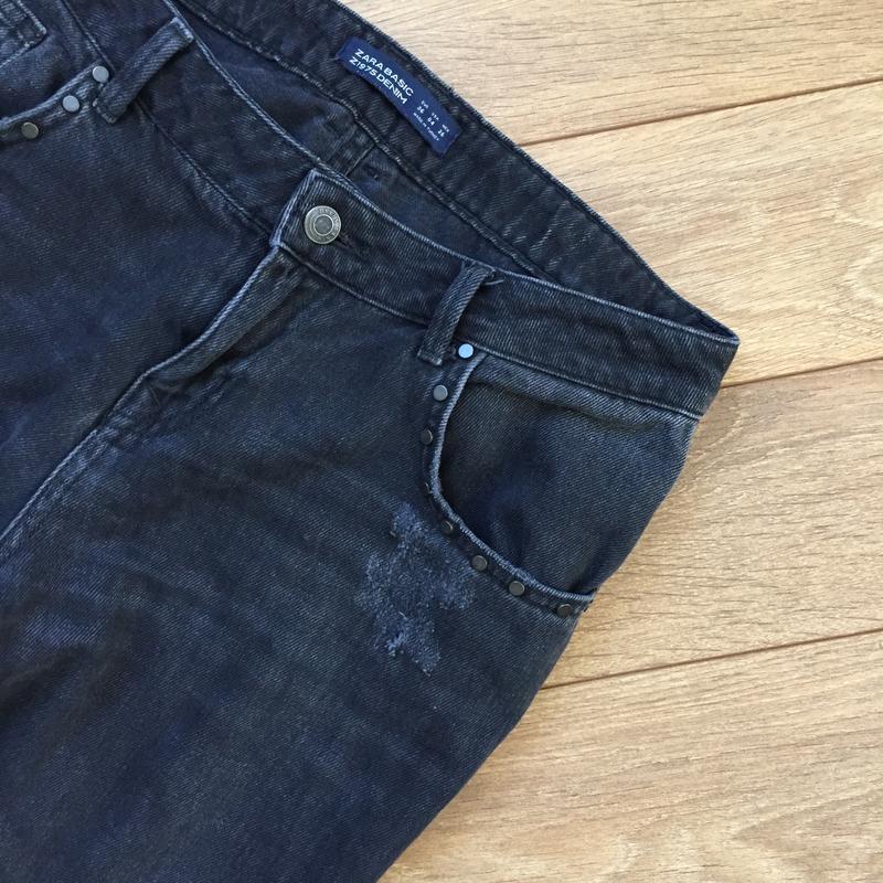 Стильнейшие джинсы  с потёртостями от zara - Фото 7