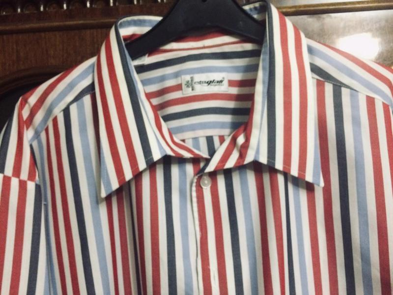 Рубашкав полоску, длинный рукав,хлопок,walbusch,оригинал