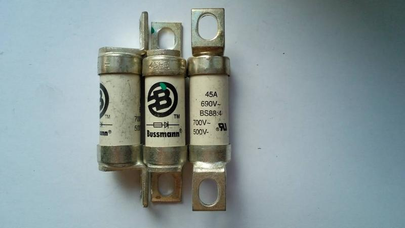 Bussmann Предохранитель BS88:4 45FE , 63FE , 80ET