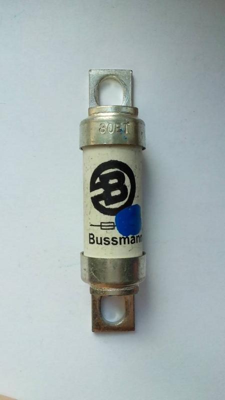 Bussmann Предохранитель BS88:4 45FE , 63FE , 80ET - Фото 2