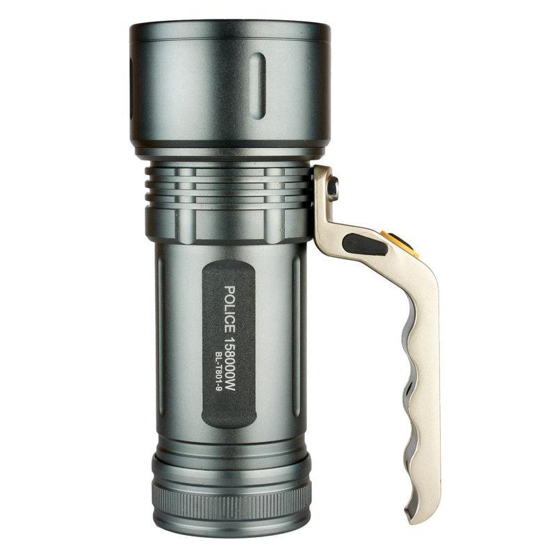 Яркий Фонарь-прожектор Police T801-9