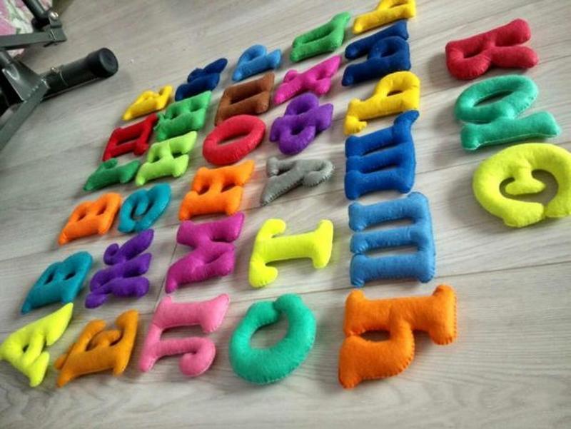 Алфавит. Буквы. Фетр. Развивашки