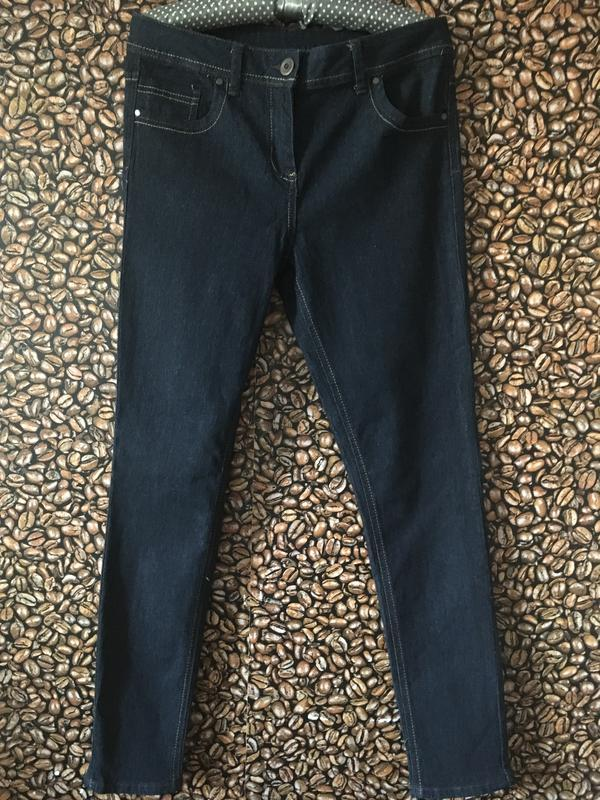 Темно синие джинсы р.12