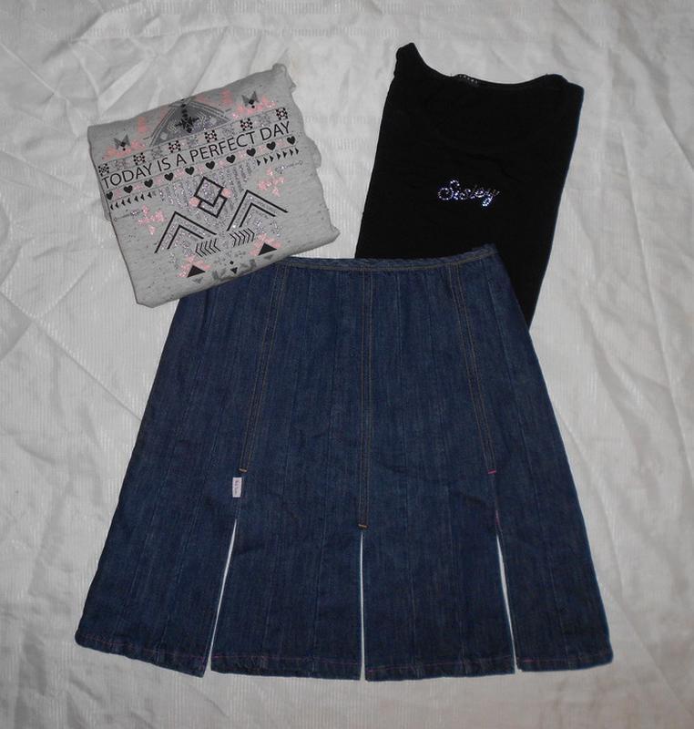 Мегаскидка!! paul smith джинсовая юбка с разрезами, ит. 46, l-...