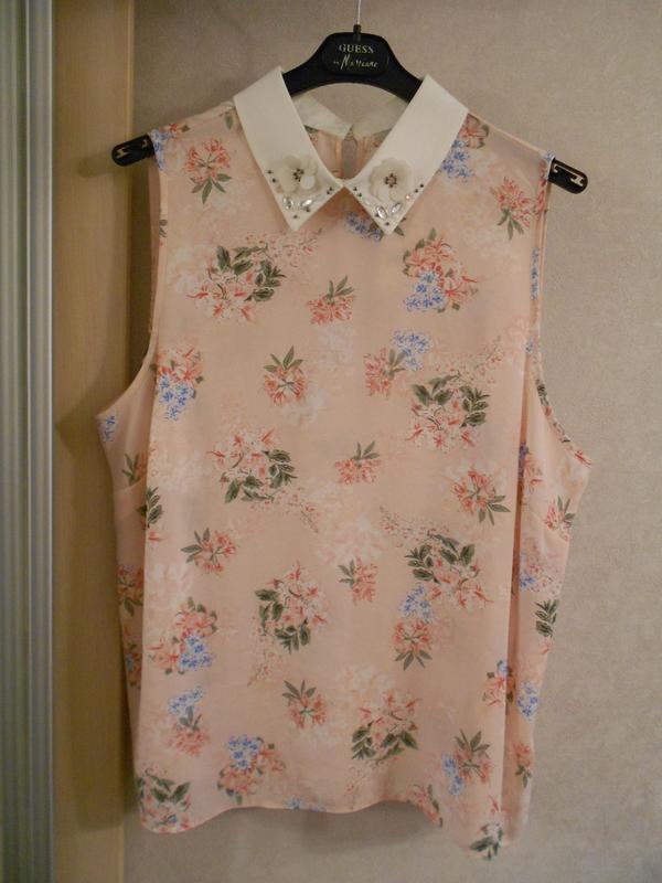 Мегаскидка!! george нежная цветочная блуза с декором, р.14-42,...