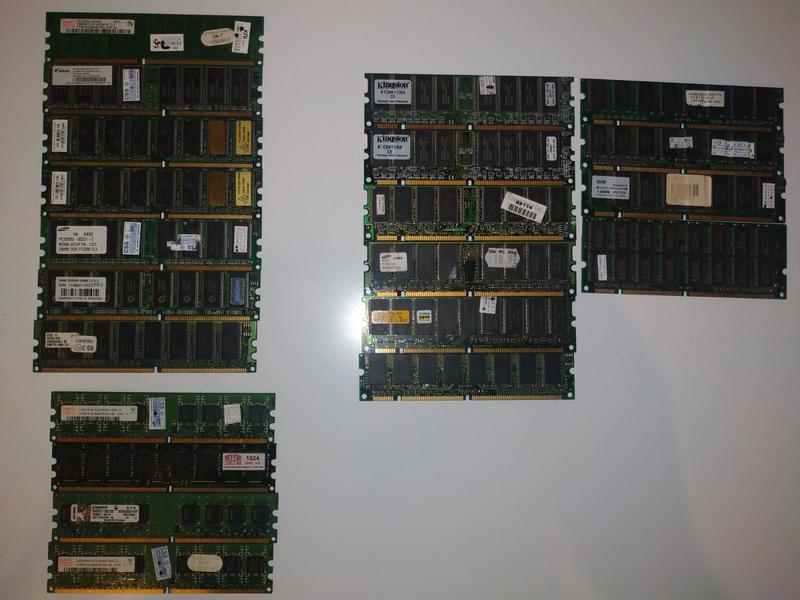 Оперативная память, оперативка, DDR2\DDR1\SDRAM