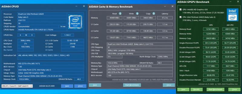 """Процессор """"Pentium Gold"""" G4620 3.7GHz """"ГиперПень"""", видео HD 630, - Фото 6"""