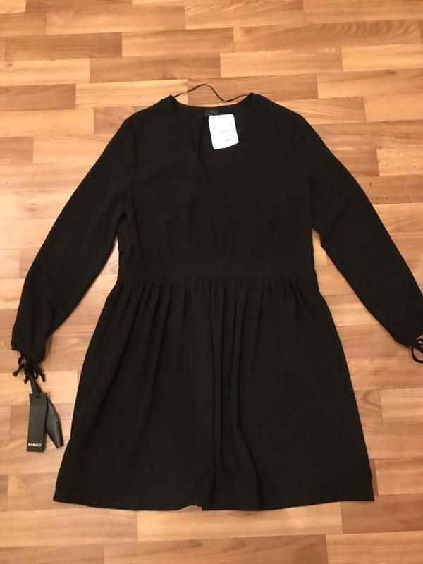 Маленькое чёрное платье pinko - Фото 8