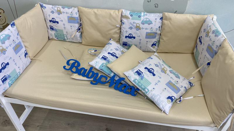 Бортики подушечки в кроватку - Фото 4