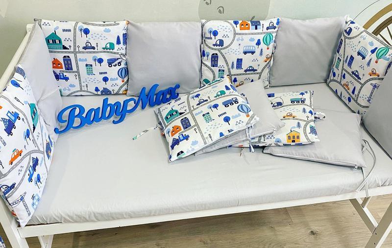 Бортики подушечки в кроватку - Фото 3