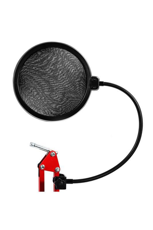 ПОП-фильтр фильтр для микрофона (двухслойный, ПОП-фільтр)