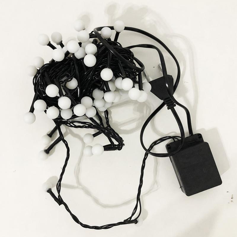 Гирлянда-нить String-Lights внутренняя разноцветная (пров.:черный - Фото 3