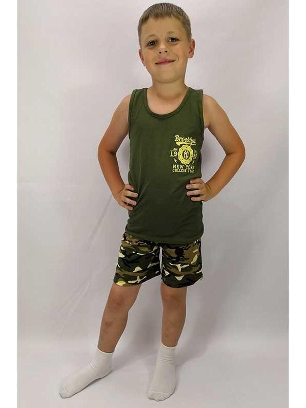 Летний комплект для мальчика бруклин майка+шорты