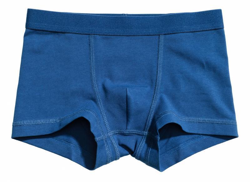 Трусики h&m 0485539043 синій шорти 61608