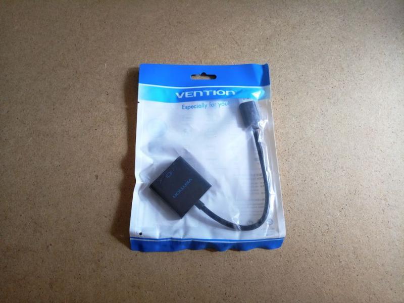 Vention фирменный конвертер для вывода видео с HDMI на VGA