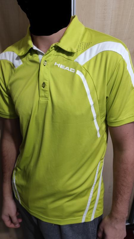 Спортивне поло футболка тениска спортивное head