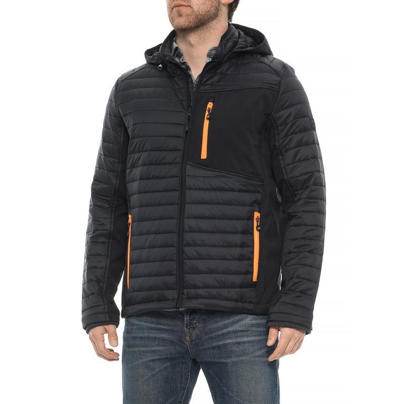 Куртка мужская нейлоновая утепленная демисезон skechers (два ц...