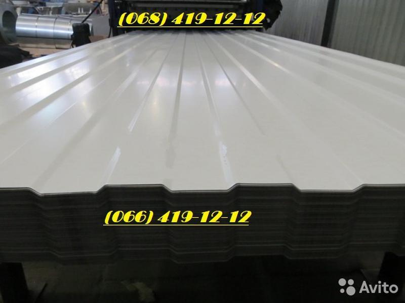 Белый профнастил RAL 9003. Забор белого цвета. Лист белый