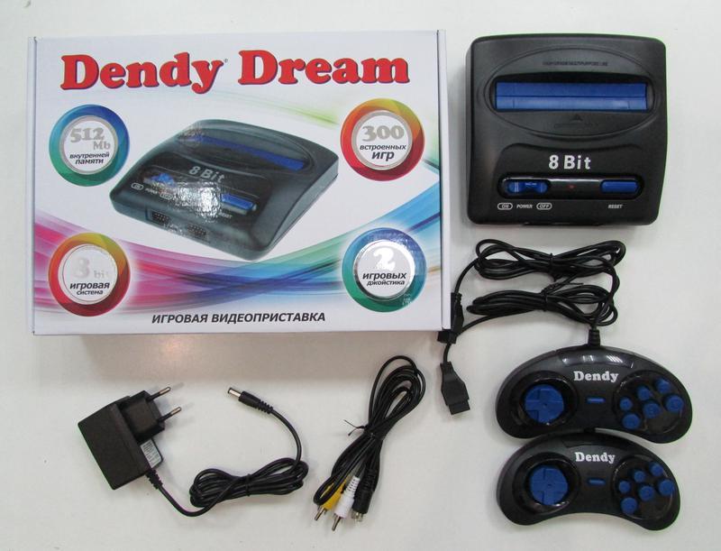 Dendy Dream 8 bit + 300 встроенных игр - Фото 3