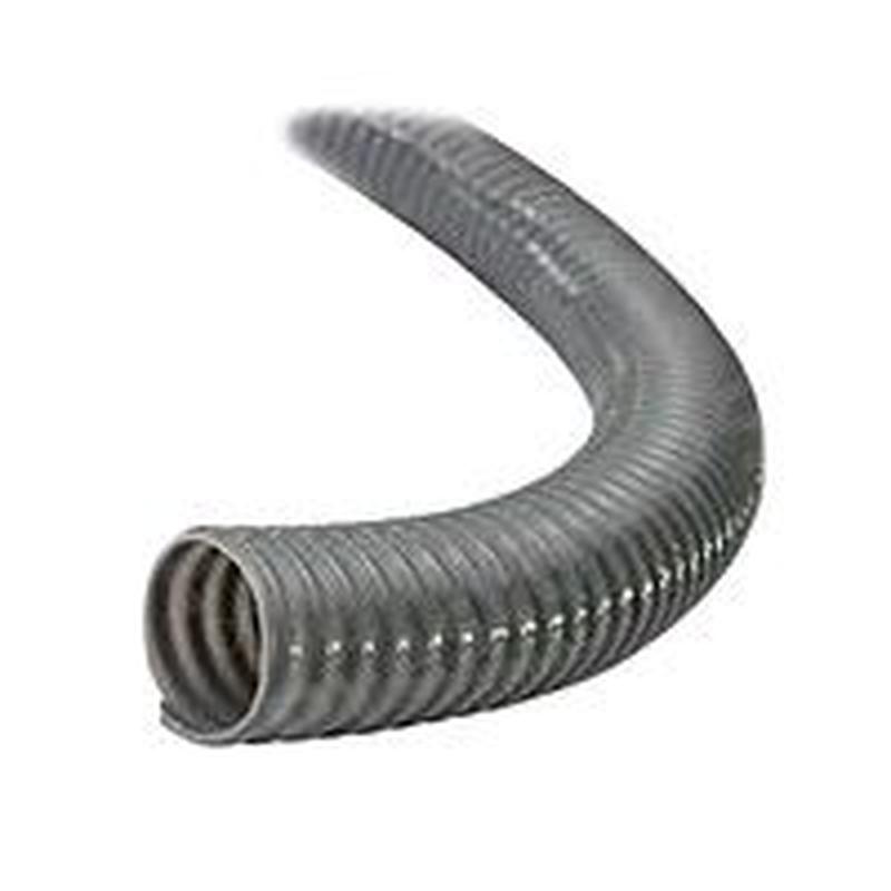 Шланг гофра Evci Plastik воздушная серая диаметр 100 мм, длина 25
