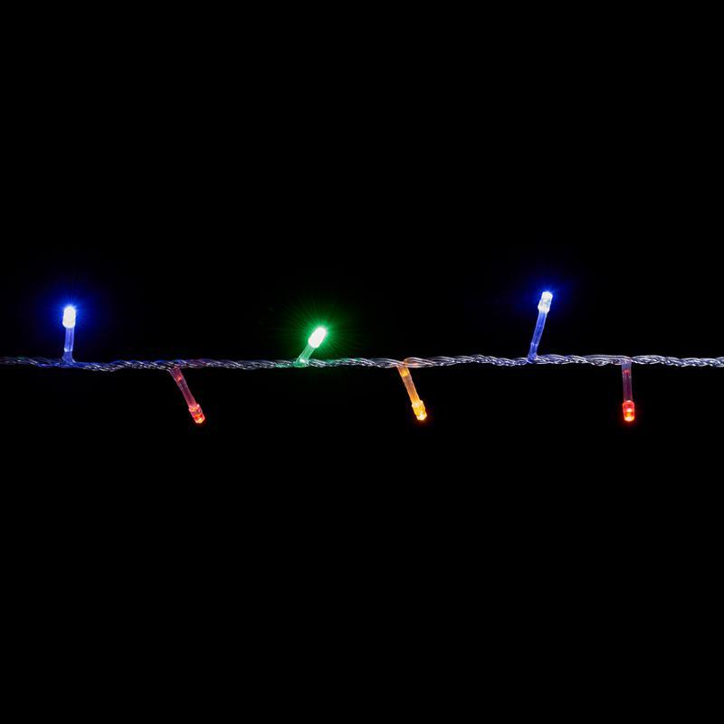 Яркая LED 5м 100 светодиодов многоцветная гирлянда - Фото 2
