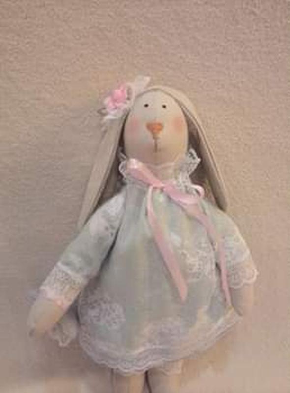 Авторская текстильная кукла, Тильда - Фото 3