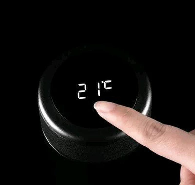 Термос с термометромLanyun - Фото 2