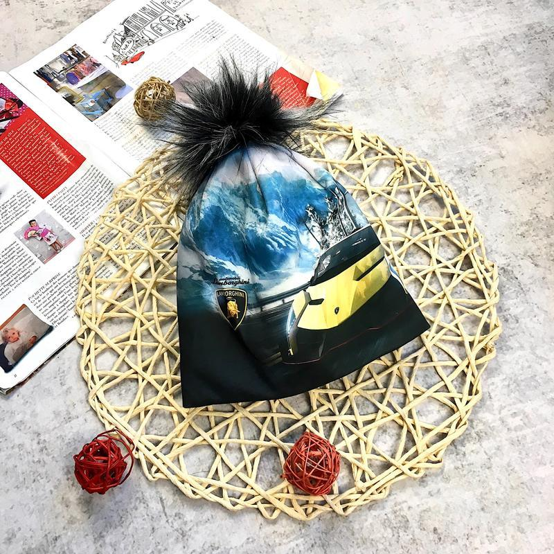 Зд шапка флісовою підставкою вік 1- 6 років - Фото 2