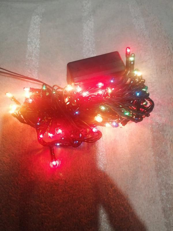 Светодиодная гирлянда кисточки, 100 светодиодов - Фото 4
