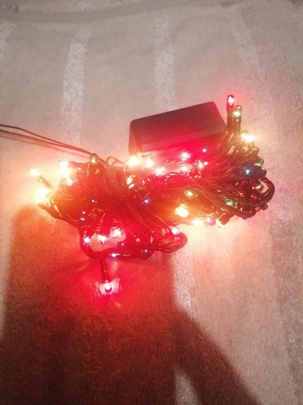 Светодиодная гирлянда кисточки, 100 светодиодов - Фото 2