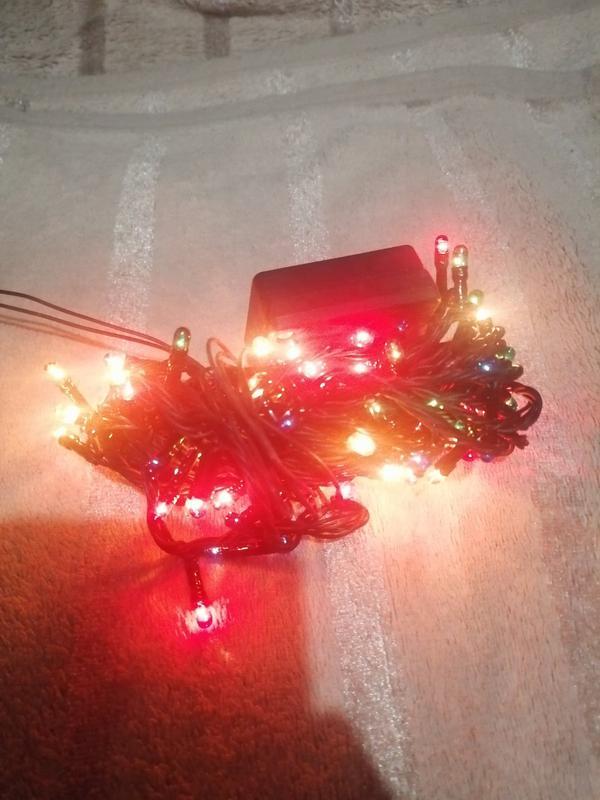 Светодиодная гирлянда кисточки, 100 светодиодов - Фото 5