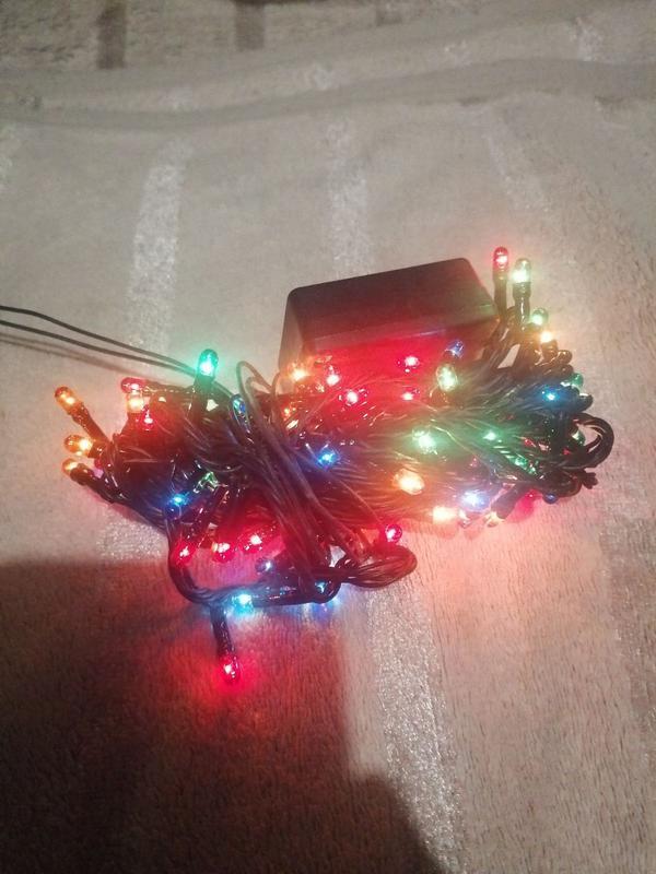 Светодиодная гирлянда кисточки, 100 светодиодов
