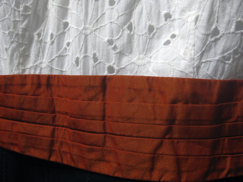 Платье сарафан karen millen комбинированное белое чёрное котто... - Фото 5