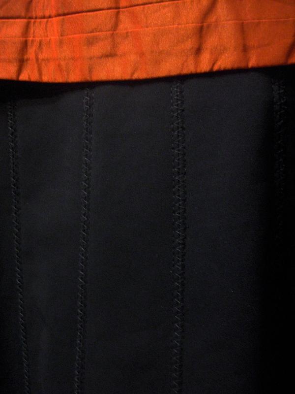 Платье сарафан karen millen комбинированное белое чёрное котто... - Фото 6