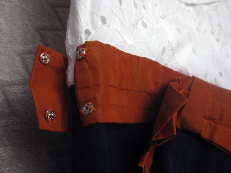 Платье сарафан karen millen комбинированное белое чёрное котто... - Фото 8
