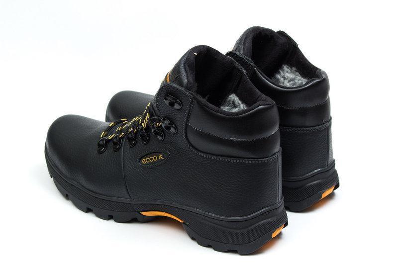 Мужские зимние ботинки из натуральной кожи - Фото 2