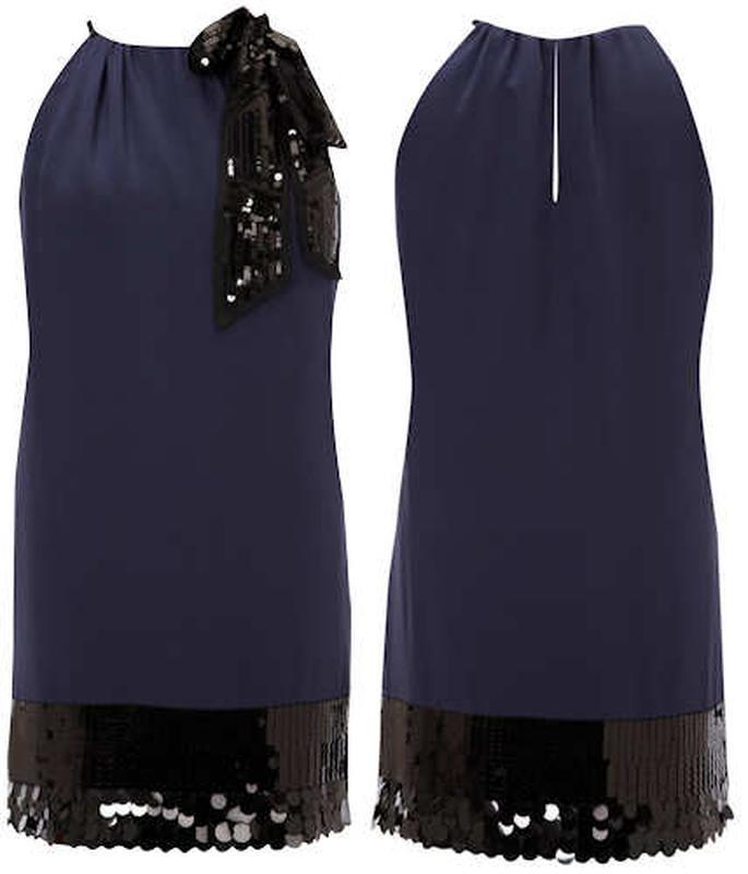 Мегаскидка!! coast великолепное шелковое платье с пайетками, р...