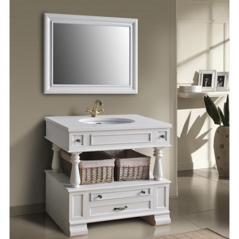 Зеркало для ванной комнаты: Джулия 95 Ivory