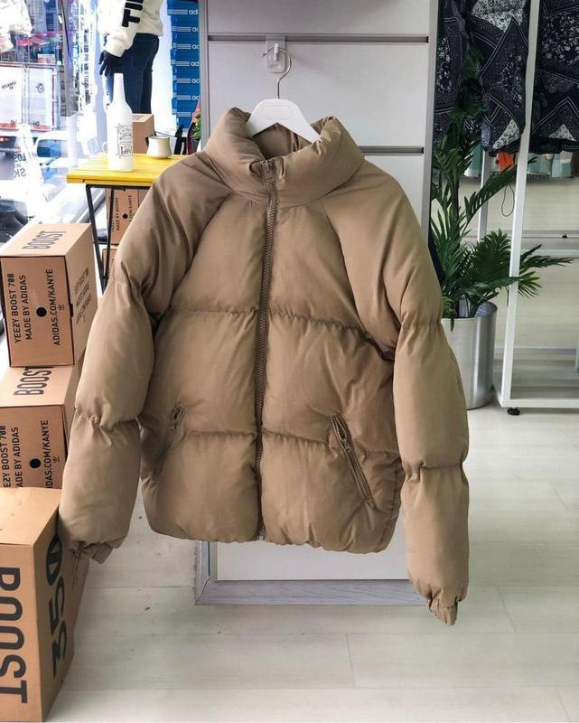 Мужская зимняя куртка пуховик - Фото 4